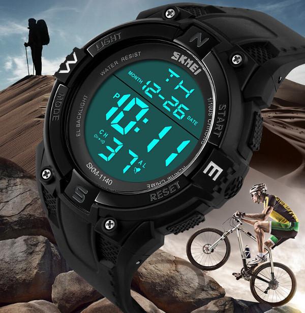 Мужские спортивные часы SKMEI 1140 Original Водостойкие