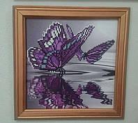Картина алмазной живописи Бабочки