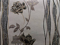 Обои бумажные Шарм Грация  104-02 черный