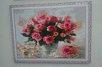 Картина в алмазной технике, Розы