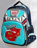 """Школьный рюкзак для мальчика """"CARS """",ортопедическая спинка"""