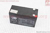 Аккумулятор OT7,2-12 - 12V7,2Ah (L150*W62*H94,mm) для ИБП и игрушек