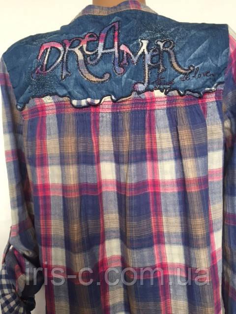 Блуза женская, хлопок 100%, Desigual размер M/L