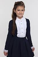 Блуза школьная нарядная с рюшем ТМ СМИЛ