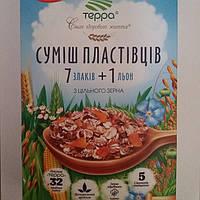 """Смесь злаков Терра """"7 злаков+лен"""", 600 г"""