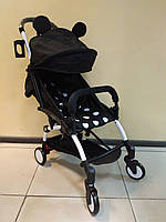 Детская коляска YOYA 175 A+ Mickey Mouse, 3 ярусный капор, легкая, складная, компактная Йойа Микки маус