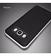 Чехол - бампер iPaky (Original) для Samsung J710F Galaxy J7 (2016) - серебряный