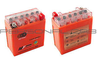 Аккумулятор 12V 5А гелевый (высокий) (оранжевый), фото 3