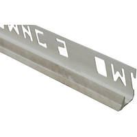 Уголок ОМиС 9x2500 мм внутренний мрамор серый
