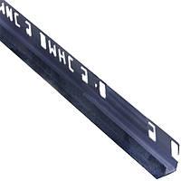 Уголок ОМиС 9x2500 мм внутренний мрамор джинс
