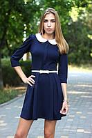 Платье школьное модное с поясом  арт.431', фото 1
