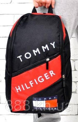 Рюкзак TOMMY HILFIGER, рюкзак томи хилфигер красный,  не оригинал