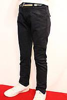 Школьные котоновые брюки темно-синего цвета, для подростков от 6-14 лет(116-164см) Фирма-Smile.