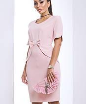 Элегантное платье с бантом спереди (Регина lzn), фото 3