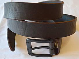 Ремень мужской кожаный под джинсы 4коричневый