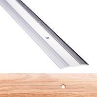 Профиль для пола алюминиевый 1-А 40x1800 мм Дуб альпийский