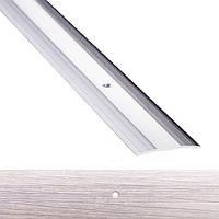 Профиль для пола алюминиевый 1-А 40x1800 мм Дуб пепельный