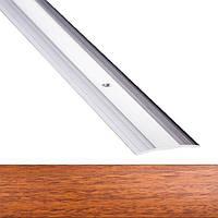 Профиль для пола алюминиевый 1-А 40x900 мм Орех лесной