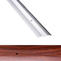Профиль для пола алюминиевый Лугалпроф 1-А 0.9 м 3х40 мм Тик