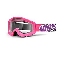 Маска 100% Strata Bubble Gum Clear Lens