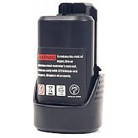 Аккумулятор к электроинструменту PowerPlant для BOSCH GD-BOS-10.8(B) 12V 2Ah Li-Ion (DV00PT0002)