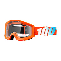 Маска 100% Strata Orange Clear Lens