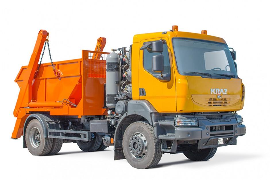 Портальний сміттєвоз КрАЗ 5401Н2