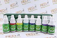 Набор красок  для аэрографии Premium Nail Art polyurethane