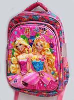 """Школьный рюкзак для девочки """"Barbie"""",(30*40*15 см),3D принт"""