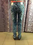Рваные джинсы для девочки подростка 134,140,158 см, фото 2