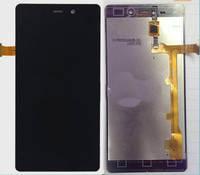 Дисплей для Fly iQ453 Quad Luminor FHD/BLU L240A Life Pure/L240I Life Pure/Gionee Elife E6 + touchscreen, чёрн