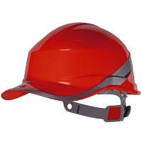 Каска защитная строительная Diamond 5 красная