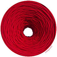 Трикотажная пряжа Красный (85 м)