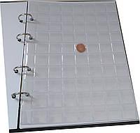 Лист для монет формат А4 200*250 мм на 70 ячеек, фото 1