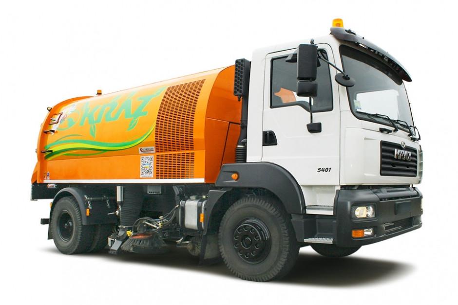 Прибиральний автомобіль КрАЗ 5401К2