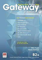 Книга для учителя Gateway 2nd edition B2+ Teacher's Book Premium Pack