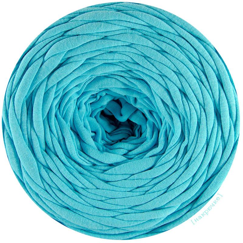 Трикотажная пряжа Pastel XL Яркий голубой (85 м)