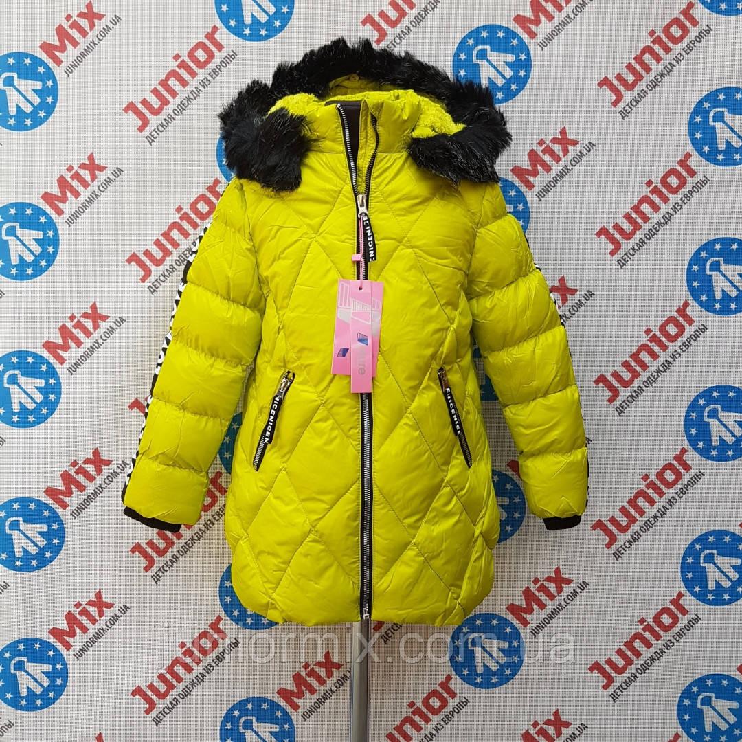 Оптом зимние детские куртки для девочек NATURE