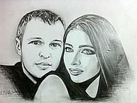 Живопись на заказ по фотографии уникальный подарок любимой женщине
