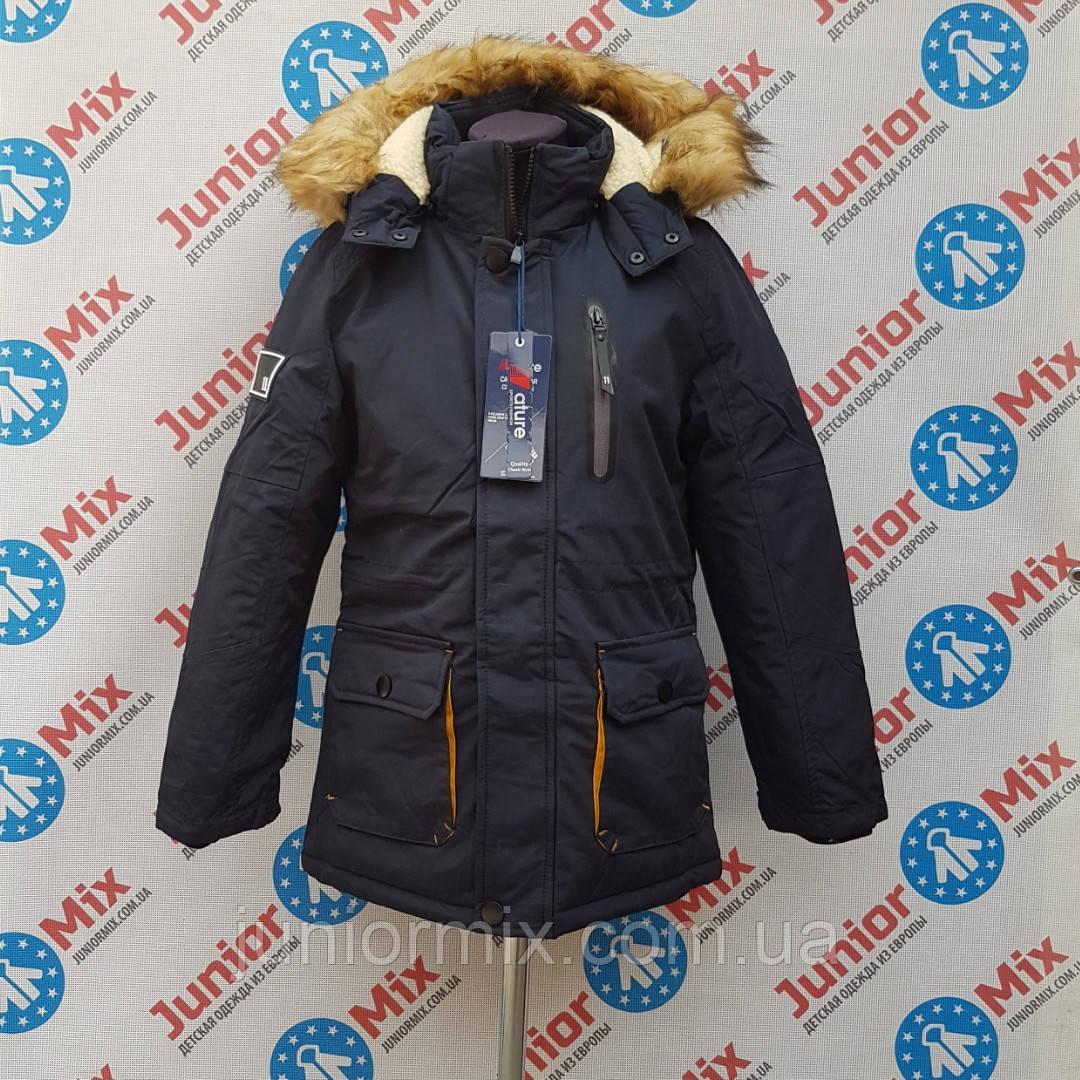Зимові дитячі куртки для хлопчиків NATURE. ОПТОМ