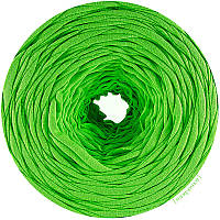 Трикотажная пряжа Яркий зеленый, (85 м)