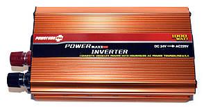 Перетворювач POWERONE 24V-220V 1000W