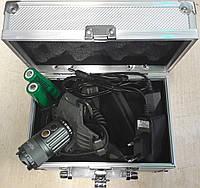 Светодиодный фонарь налобный + вело Police 30000W 2-25 с автофокусировкой в кейсе