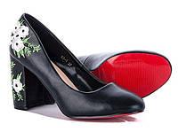 Туфли женские черные 63-1 black Большой выбор обуви на сайте saxo.com.ua