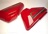 Пластик боковой Альфа (красный) TVR