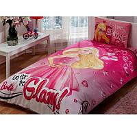Постельное белье Tac Disney - Barbie Glam 160*220 подростковое