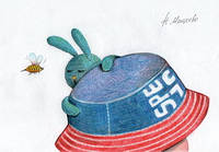 """Листівка """"Бджілка"""""""