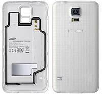 Задняя крышка для Samsung G900 Galaxy S5 Duos (White) Original