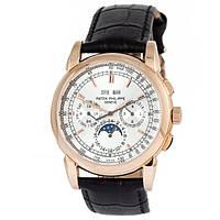 Мужские наручные часы под золото Patek Philippe Sky Moon 35p  (копия)
