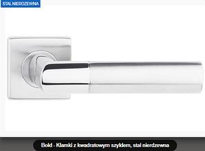 Дверная ручка  Bold нержавеющая сталь